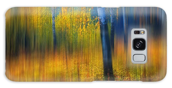 In The Golden Woods. Impressionism Galaxy Case