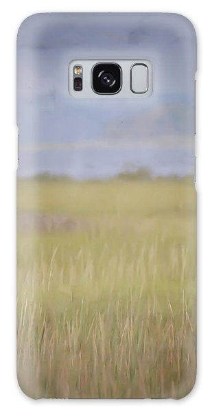 In The Marsh  Galaxy Case by Kerri Farley