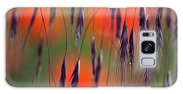 Galaxy Case featuring the photograph In The Meadow by Heiko Koehrer-Wagner
