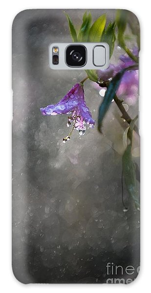 In The Morning Rain Galaxy Case