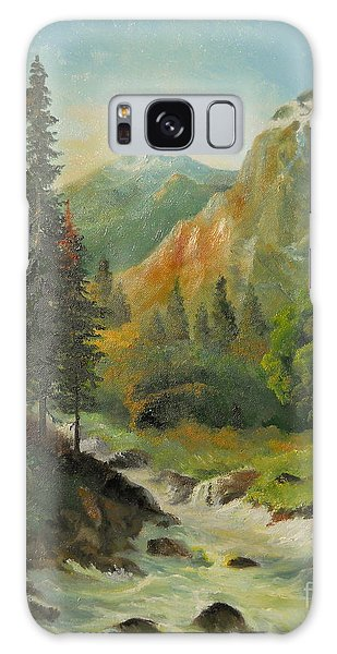 In The Mountains  Galaxy Case