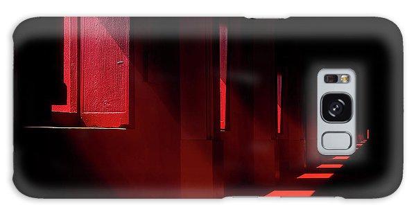 Window Galaxy Case - In The Red Temple by Ekkachai Khemkum