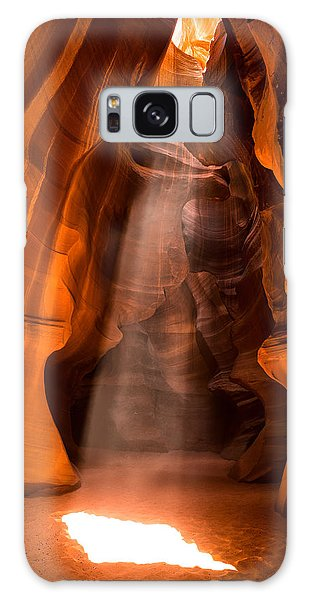 Galaxy Case featuring the photograph In The Spotlight by Brad Brizek