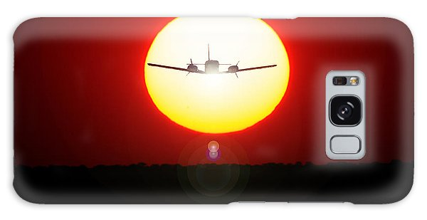 Galaxy Case featuring the photograph In The Sun by Paul Job