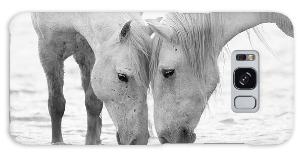 Horse Galaxy Case - In The Water At Dawn II by Carol Walker