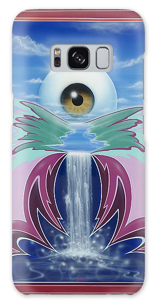In The Wink Of An Eye Galaxy Case by Alan Johnson