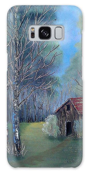 In The Woods Galaxy Case by Suzanne Theis