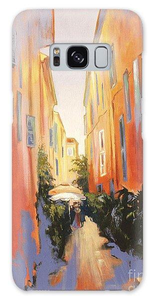 In Town Of Saint Tropez Galaxy Case