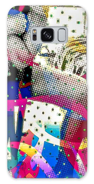 Galaxy Case featuring the digital art Incognito by Eleni Mac Synodinos