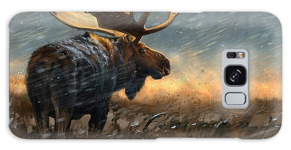Wildlife Galaxy Case - Incoming Storm by Aaron Blaise