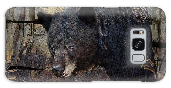 Inconspicuous Bear Galaxy Case by Ed Hall