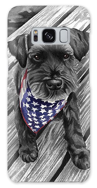 Independence Day Dog Galaxy Case