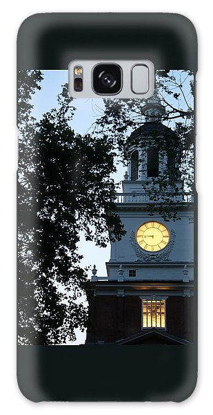 Independence Hall At Dusk Galaxy Case by Christopher Woods
