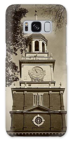 Independence Hall - Bw Galaxy Case