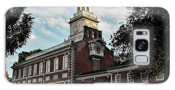 Independence Hall Galaxy Case by Ed Sweeney