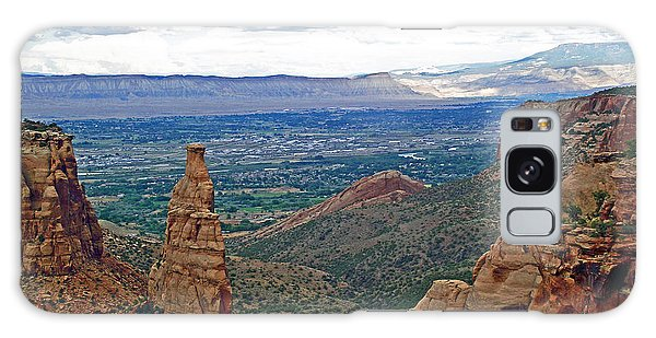 Independence Monument In Colorado National Monument Near Grand Junction-colorado Galaxy Case