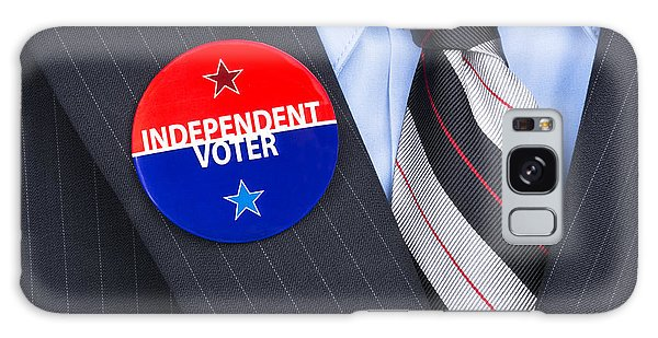 Independent Voter Pin Galaxy Case