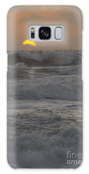 Indialantic Sunrise Galaxy Case by Tannis  Baldwin