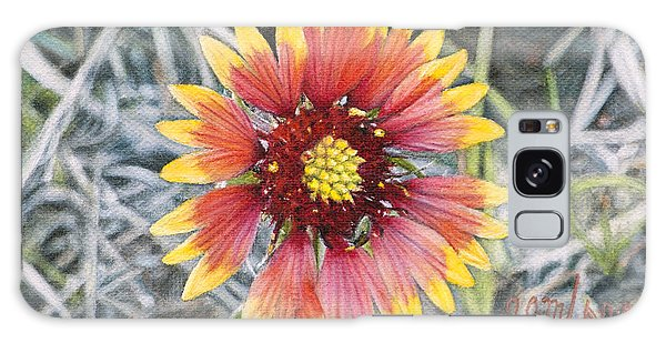Indian Blanket Galaxy Case by Joshua Martin