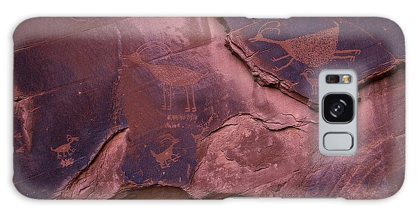 Language Galaxy Case - Indian Cave Art by Garry Gay