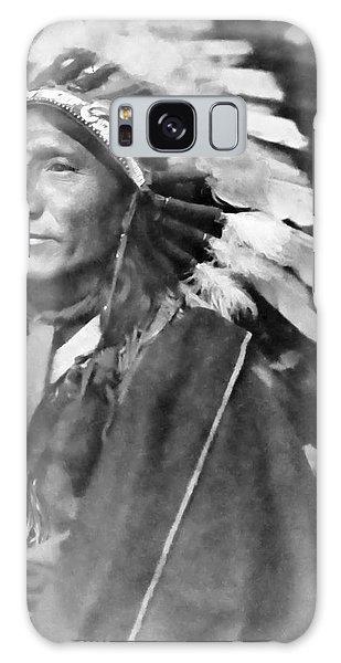 Indian Head Galaxy Case - Indian Chief - 1902 by Daniel Hagerman