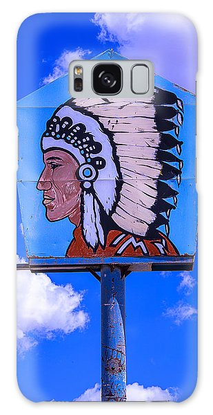 Indian Head Galaxy Case - Indian Chief Sign by Garry Gay