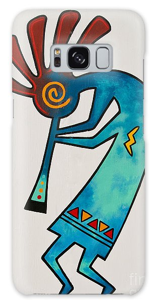 Galaxy Case featuring the photograph Indian Dance Two by Mae Wertz