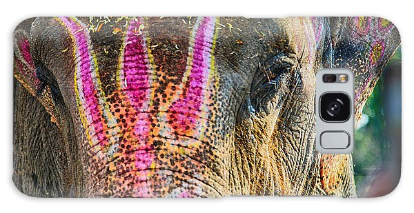Indian Elephant Galaxy Case by John Hoey