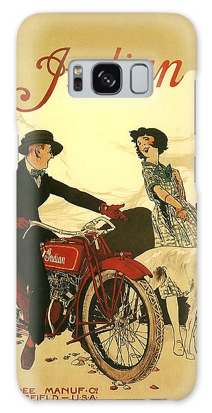 Bike Galaxy Case - Indian Motorcycle Poster by Bill Cannon