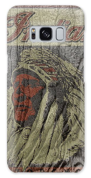 Indian Motorcycle Postertextured Galaxy Case