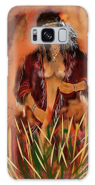 Indian Nude Galaxy Case