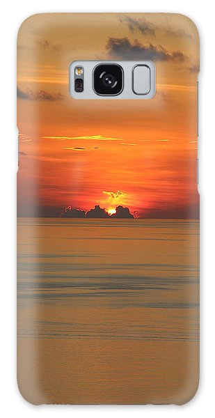 Galaxy Case featuring the photograph Indian Ocean Sunset  by Debbie Cundy