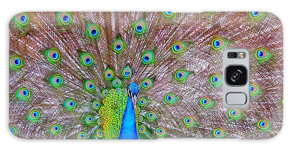 Indian Peacock Galaxy Case by Deena Stoddard