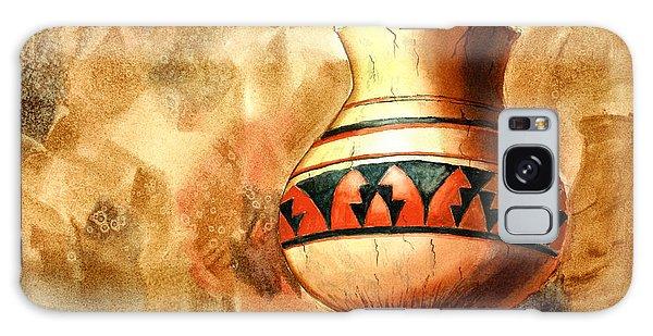 Indian Pot Galaxy Case by Pattie Calfy