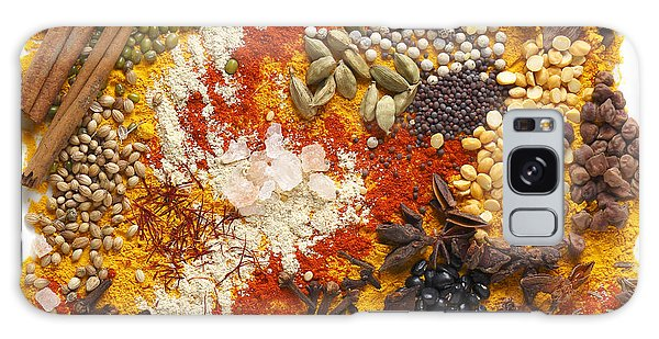 Indian Pulses And Spices Galaxy Case