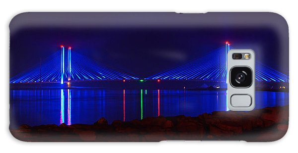Indian River Inlet Bridge After Dark Galaxy Case