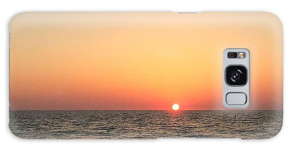 Indian Rocks Sunset 1 Galaxy Case