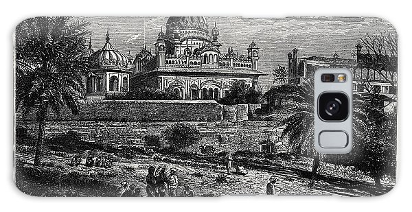 Sikh Art Galaxy Case - Indian Sketches The Tomb Of Runjeet Singh by Indian School