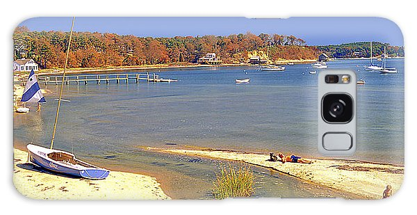 Galaxy Case - Indian Summer Afternoon Pleasant Bay Cape Cod Massachusetts by A Gurmankin