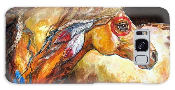 Indian War Horse Golden Sun Galaxy Case