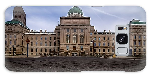 Indiana Capital Building - Back Galaxy Case