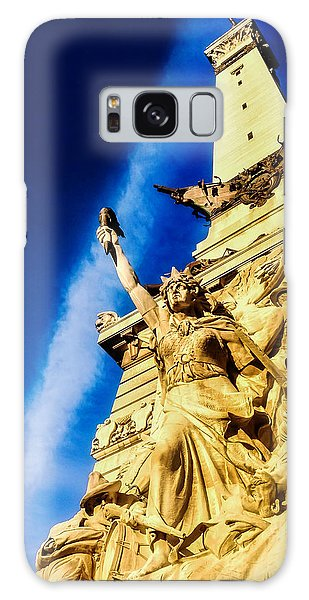 Civil Galaxy Case - Indiana Civil War Monument by Jon Woodhams
