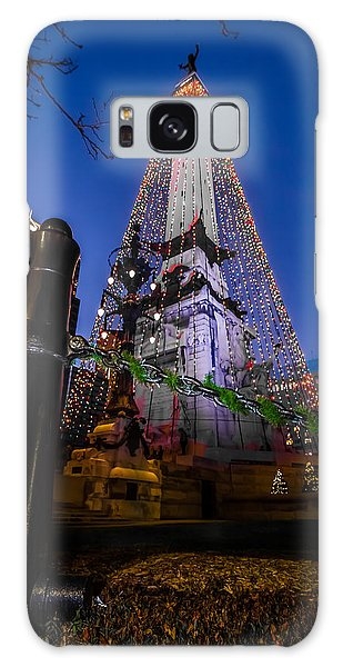 Indiana - Soldiers And Sailers Monument With Lights Galaxy Case