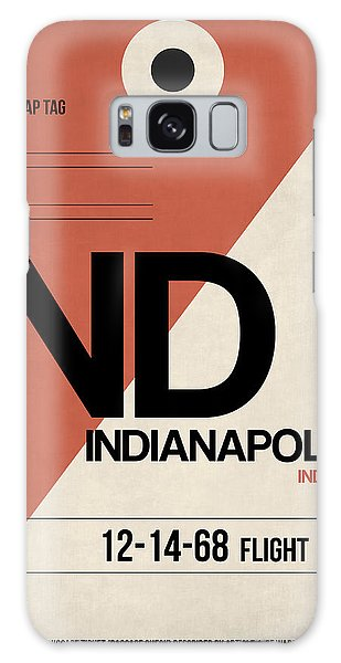 Indianapolis Galaxy Case - Indianapolis Airport Poster 1 by Naxart Studio