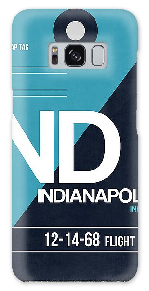 Indianapolis Galaxy Case - Indianapolis Airport Poster 2 by Naxart Studio