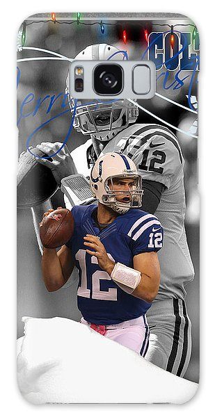 Indianapolis Galaxy Case - Indianapolis Colts Christmas Card by Joe Hamilton