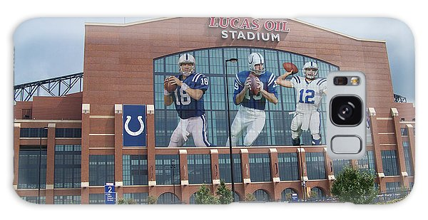 Indianapolis Galaxy Case - Indianapolis Colts Lucas Oil Stadium by Joe Hamilton
