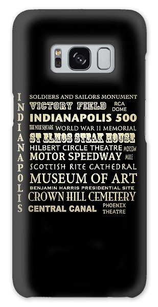 Indianapolis Famous Landmarks Galaxy Case
