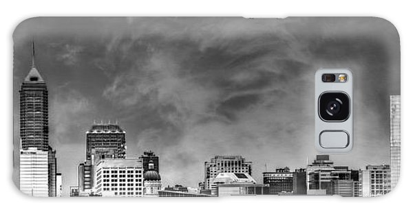 Indianapolis Indiana Skyline 0762 Galaxy Case by David Haskett