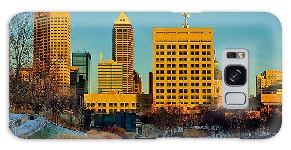 Indianapolis Skyline Dynamic Galaxy Case